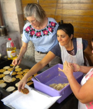 Salvadoran TV features lay missioner's soy project