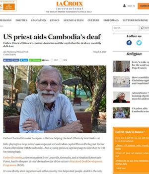 Fr. Charlie Dittmeier featured in La Croix International