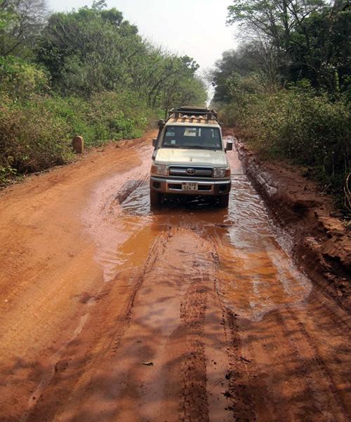 The torturous Tombura road