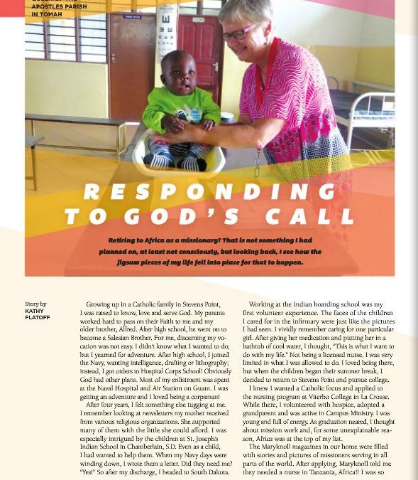 Lay missioner nurse shares her story