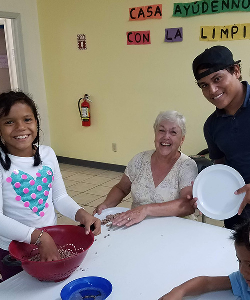 Volunteer stints in El Paso renew hope