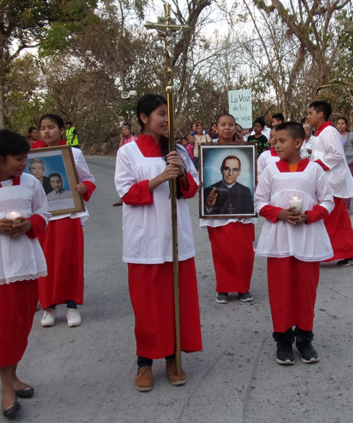 Coronavirus impacting martyrs' celebrations in El Salvador