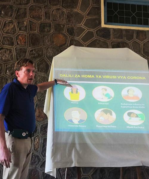 Parish public health ministry educates about COVID-19