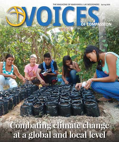Spring 2020 issue of Voices of Compassion