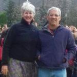 Kathy Bond and Flavio Rocha