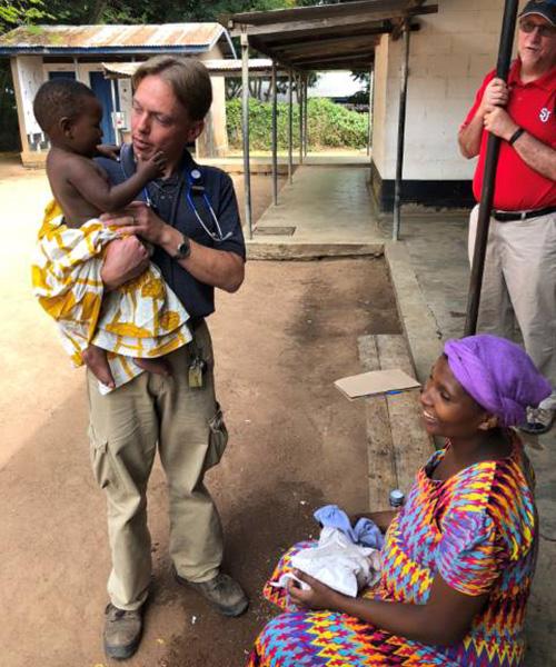 Missioner doctors in rural Tanzania