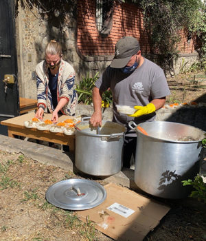 Cortney and Juan's pandemic meal ministry
