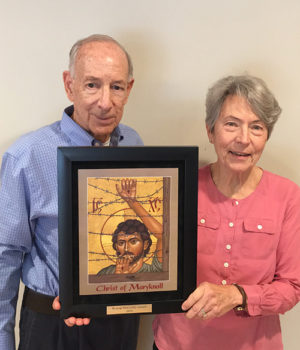 Joe and Linda Michon receive 2020 Bishop McCarthy Award