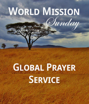 Virtual Global Prayer Service on World Mission Sunday