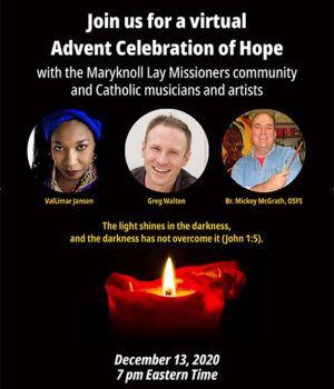 Watch our Advent celebration of hope