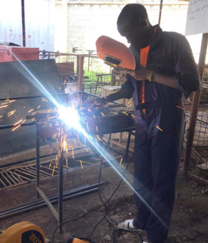 Welding education and hope for a better future