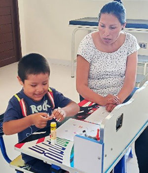 Héctor — and Maryknoll project in Bolivia — progress, despite COVID