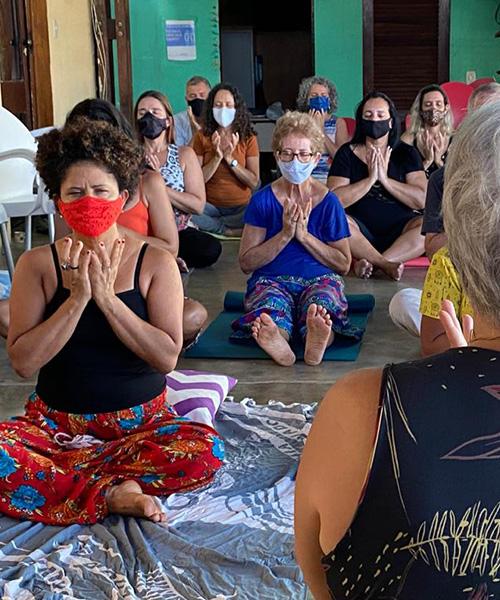 A holistic health retreat